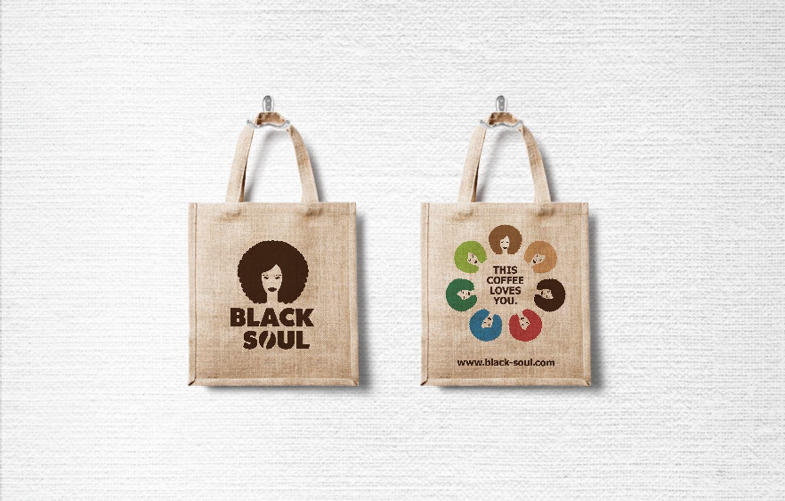 Taschen aus Jute von Black Soul