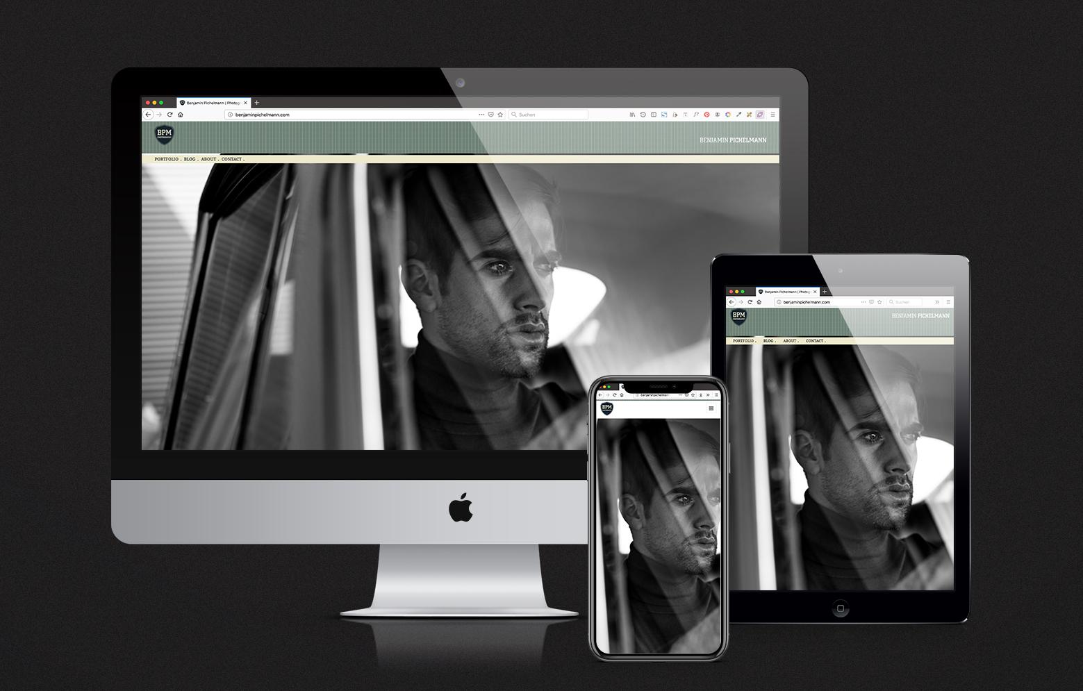 Benjamin Pichelmann Website Devices