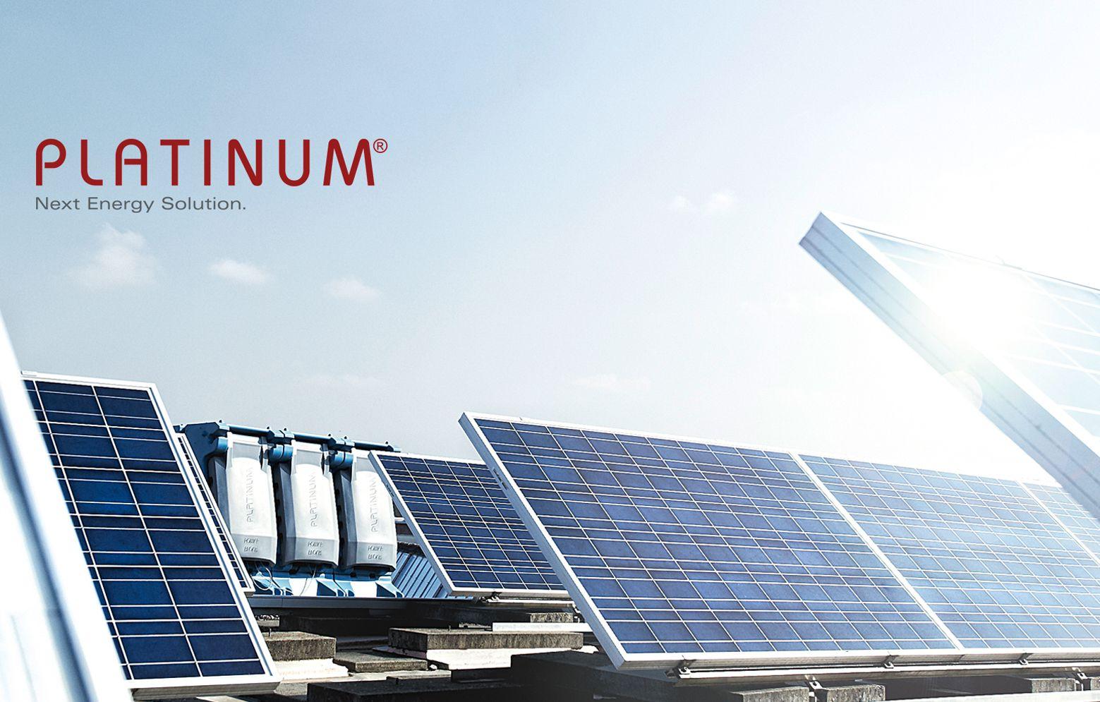 Platinum Wechselrichter mit Solarkollektoren