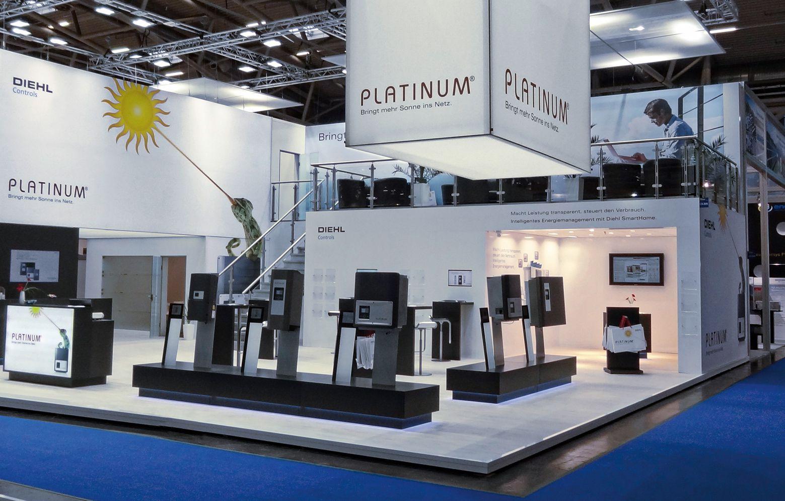 Messestand von Platinum in München