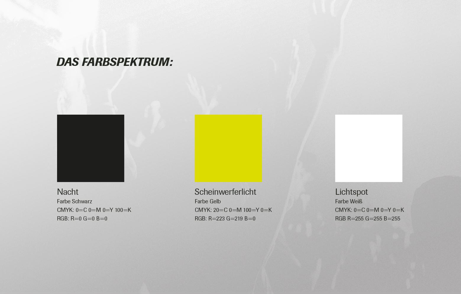 Farbspektrum von Bielefeld Rock City