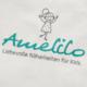Amelilo Logo auf Stoff