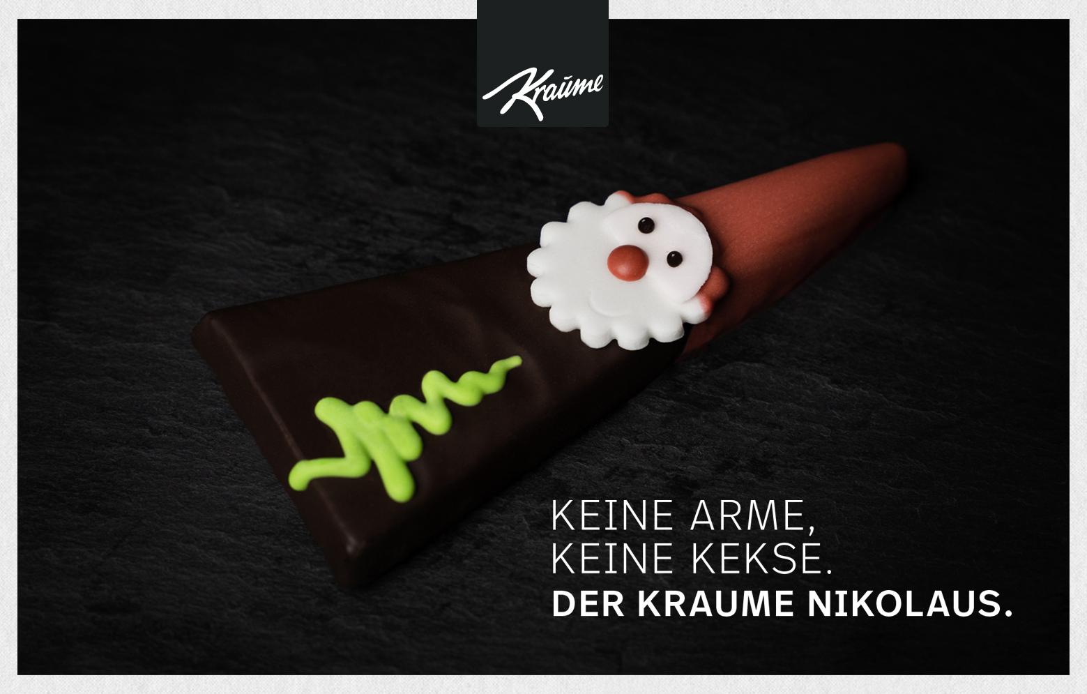KRAUME Nikolaus Anzeigenmotiv