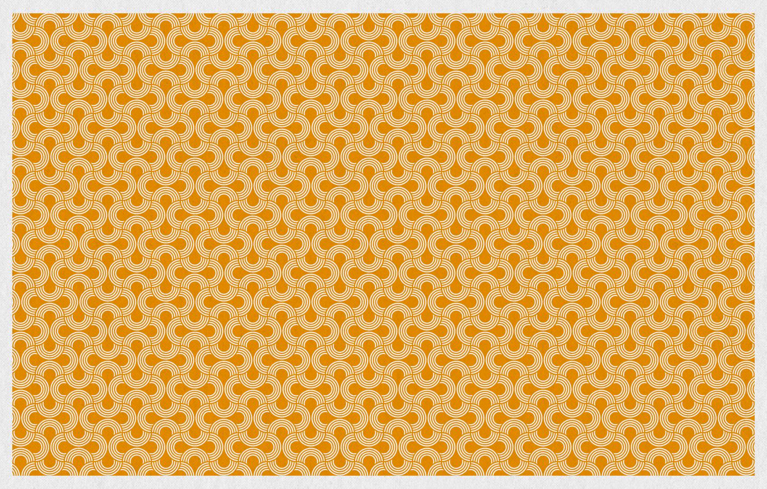 KRAUME CHOC+ Pattern orange